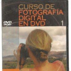 Libros de segunda mano: CURSO DE FOTOGRAFÍA DIGITAL EN DVD. Nº 1. PRECINTADO SIN USO. PLANETA. (P/C36). Lote 152684686
