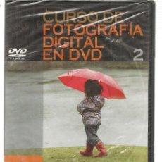 Libros de segunda mano: CURSO DE FOTOGRAFÍA DIGITAL EN DVD. Nº 2. PRECINTADO SIN USO. PLANETA. (P/C36). Lote 152684874