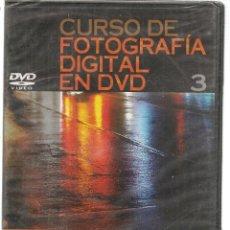 Libros de segunda mano: CURSO DE FOTOGRAFÍA DIGITAL EN DVD. Nº 3. PRECINTADO SIN USO. PLANETA. (P/C36). Lote 152684986