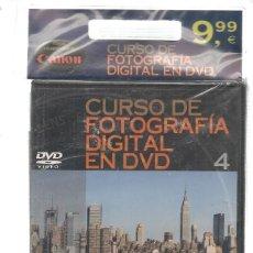 Libros de segunda mano: CURSO DE FOTOGRAFÍA DIGITAL EN DVD. Nº 4. PRECINTADO SIN USO. PLANETA. (P/C36). Lote 152685102