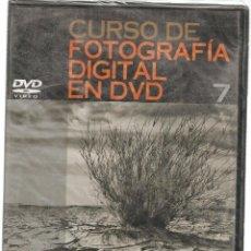 Libros de segunda mano: CURSO DE FOTOGRAFÍA DIGITAL EN DVD. Nº 7. PRECINTADO SIN USO. PLANETA. (P/C36). Lote 152685858
