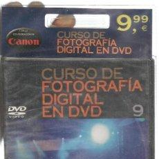 Libros de segunda mano: CURSO DE FOTOGRAFÍA DIGITAL EN DVD. Nº 9. PRECINTADO SIN USO. PLANETA. (P/C36). Lote 152685994