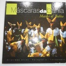 Libros de segunda mano: ARISTIDES ALVES MÁSCARAS DA BAHIA Y92634. Lote 152780918