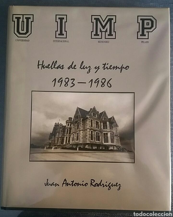 HUELLAS DE LUZ Y TIEMPO.1983-1968. JUAN ANTONIO RODRÍGUEZ. CON AUTOGRAFO. (Libros de Segunda Mano - Bellas artes, ocio y coleccionismo - Diseño y Fotografía)