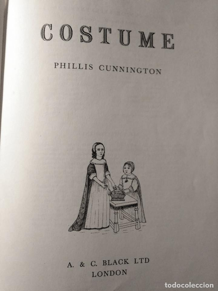 Libros de segunda mano: Costume, Cunnington, 1966 - Foto 2 - 153593102