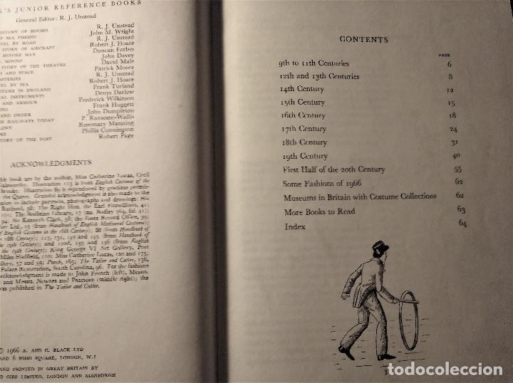 Libros de segunda mano: Costume, Cunnington, 1966 - Foto 3 - 153593102