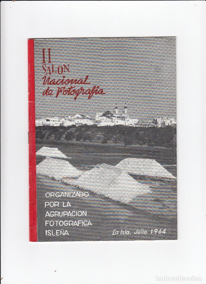 II SALÓN NACIONAL DE FOTOGRAFIA. ORGANIZADO POR LA AGRUPACIÓN FOTOGRÁFICA ISLEÑA.SAN FERNANDO.CÁDIZ. (Libros de Segunda Mano - Bellas artes, ocio y coleccionismo - Diseño y Fotografía)