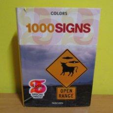 Libros de segunda mano: COLORS 1000 SIGNS TASCHEN . Lote 155311814