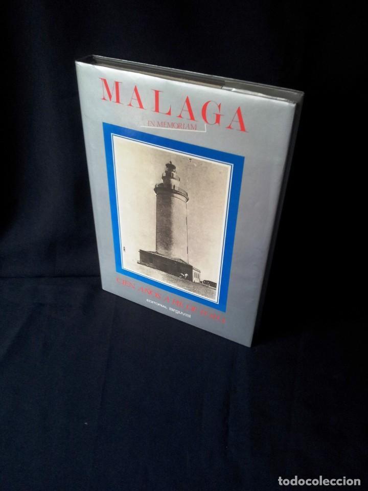 MALAGA IN MEMORIAM - CIEN AÑOS A PIE DE FOTO - ARGUVAL 1987 (Libros de Segunda Mano - Bellas artes, ocio y coleccionismo - Diseño y Fotografía)