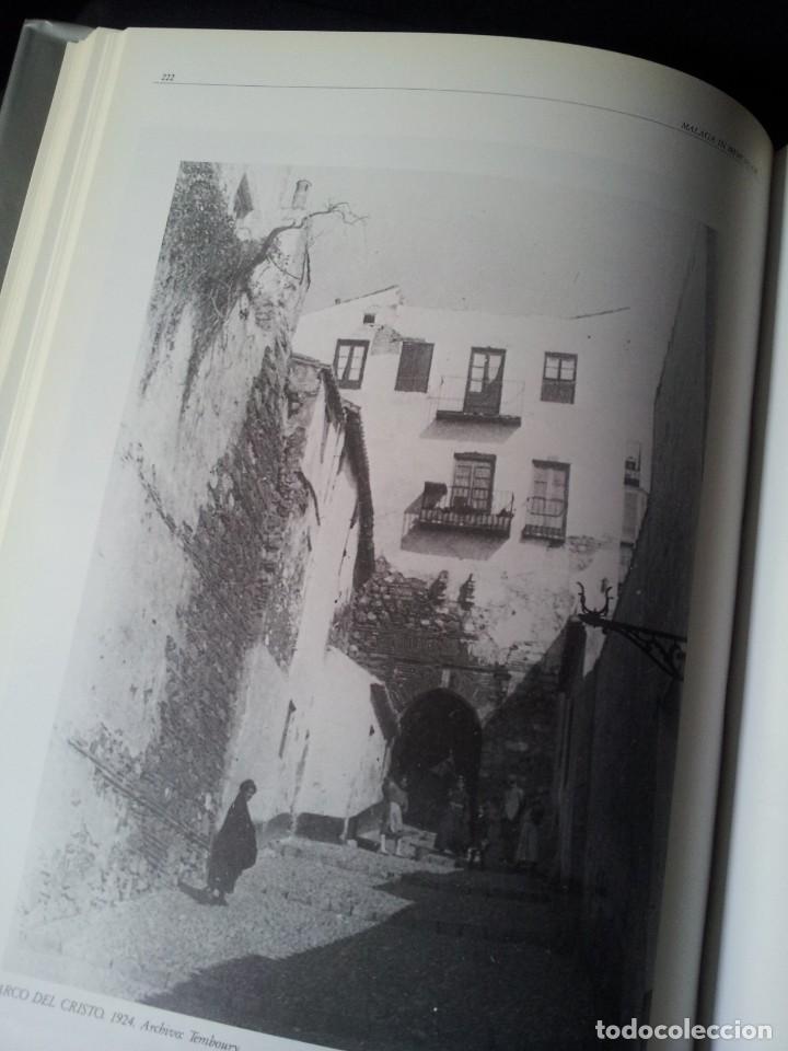 Libros de segunda mano: MALAGA IN MEMORIAM - CIEN AÑOS A PIE DE FOTO - ARGUVAL 1987 - Foto 4 - 155545866