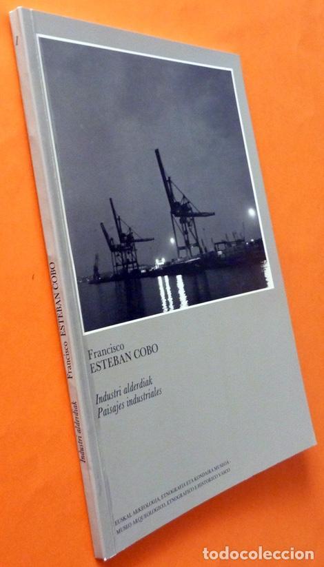 Libros de segunda mano: PAISAJES INDUSTRIALES - FRANCISCO ESTEBAN COBO - MUSEO VASCO - 1986 - NUEVO - Foto 2 - 155713878