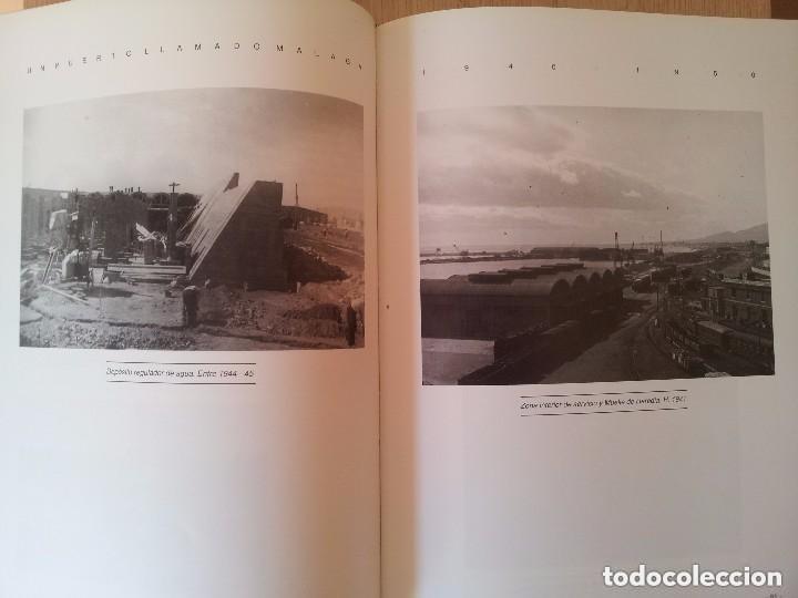Libros de segunda mano: UN PUERTO LLAMADO MALAGA - FOTOGRAFIAS PARA UNA HISTORIA (1850-1990) - CON MAPA DESPLEGABLE - 1990 - Foto 4 - 155718646