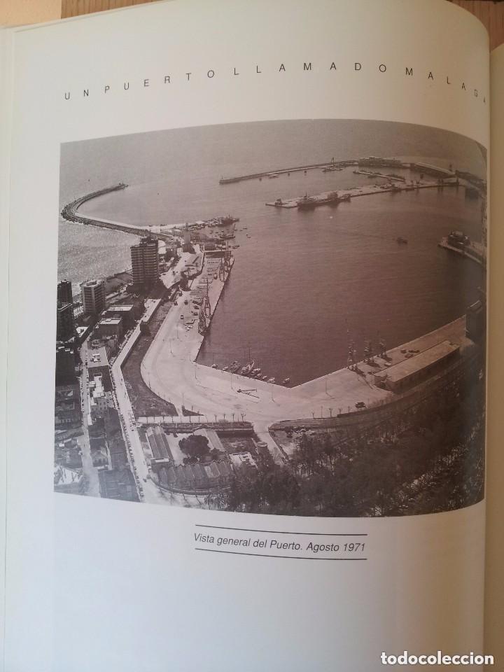 Libros de segunda mano: UN PUERTO LLAMADO MALAGA - FOTOGRAFIAS PARA UNA HISTORIA (1850-1990) - CON MAPA DESPLEGABLE - 1990 - Foto 6 - 155718646