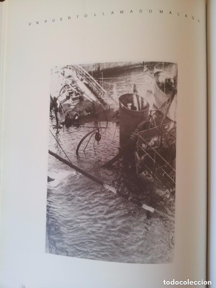 Libros de segunda mano: UN PUERTO LLAMADO MALAGA - FOTOGRAFIAS PARA UNA HISTORIA (1850-1990) - CON MAPA DESPLEGABLE - 1990 - Foto 7 - 155718646