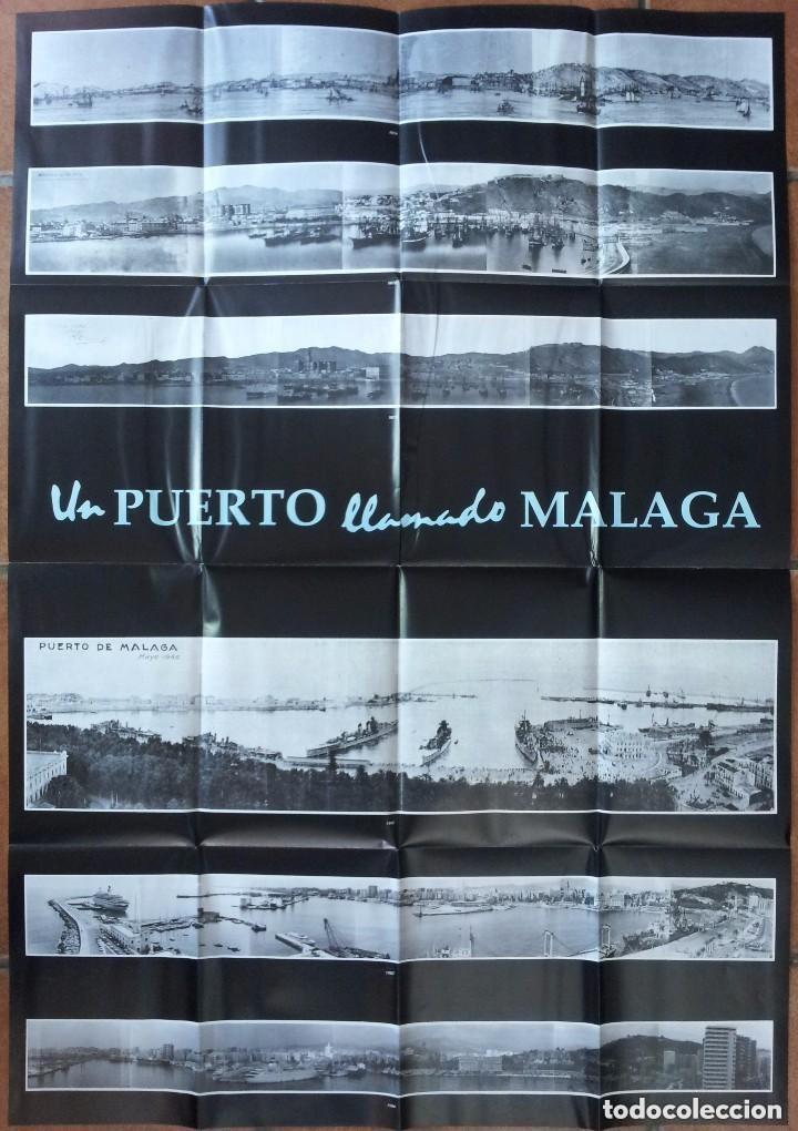Libros de segunda mano: UN PUERTO LLAMADO MALAGA - FOTOGRAFIAS PARA UNA HISTORIA (1850-1990) - CON MAPA DESPLEGABLE - 1990 - Foto 8 - 155718646
