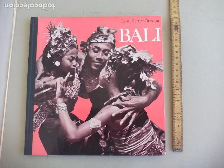 BALI, HENRI CARTIER-BRESSON. 1960. ROVEN VERLAG OLTEN (Libros de Segunda Mano - Bellas artes, ocio y coleccionismo - Diseño y Fotografía)