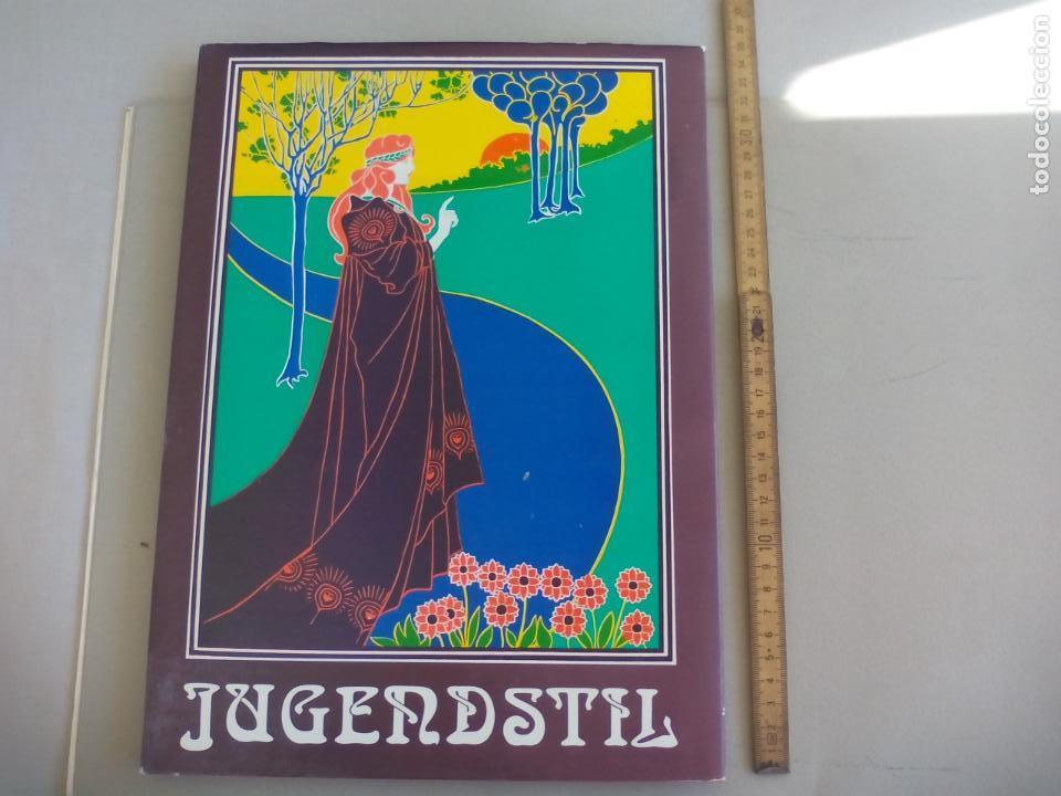 JUGENDSTIL.EINFÜRUNG VON L. SCHMIDT. VERGHAUS VERLAG. 1982. ART NOVEAU, MODERNISMO CARTELES (Libros de Segunda Mano - Bellas artes, ocio y coleccionismo - Diseño y Fotografía)