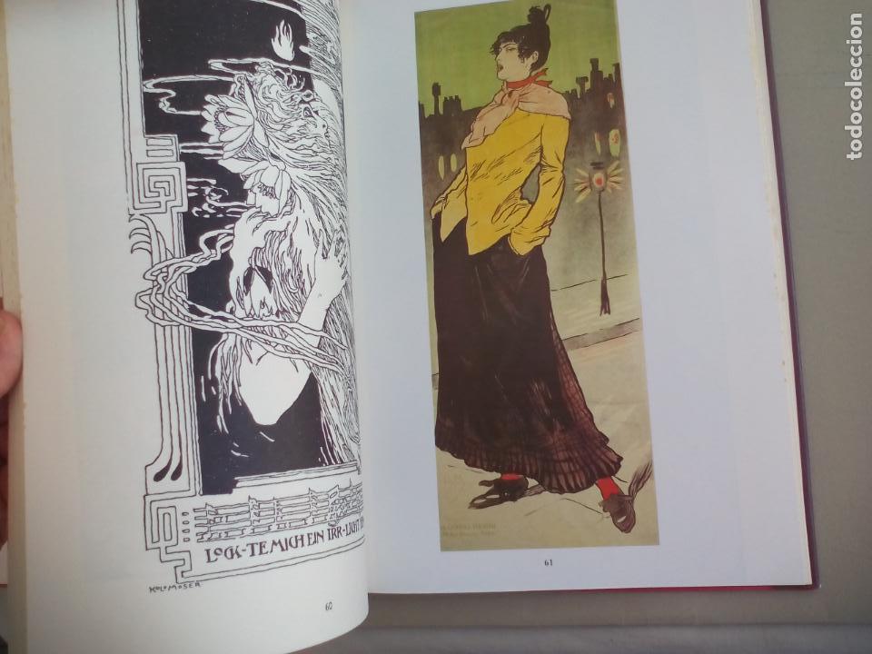 Libros de segunda mano: JUGENDSTIL.EINFÜRUNG VON L. SCHMIDT. VERGHAUS VERLAG. 1982. ART NOVEAU, MODERNISMO CARTELES - Foto 5 - 155867538