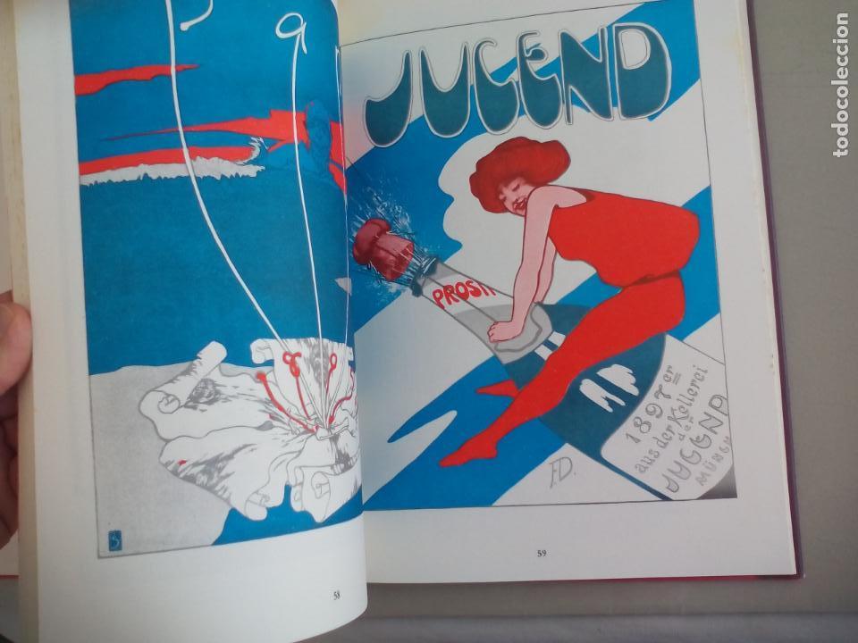 Libros de segunda mano: JUGENDSTIL.EINFÜRUNG VON L. SCHMIDT. VERGHAUS VERLAG. 1982. ART NOVEAU, MODERNISMO CARTELES - Foto 6 - 155867538