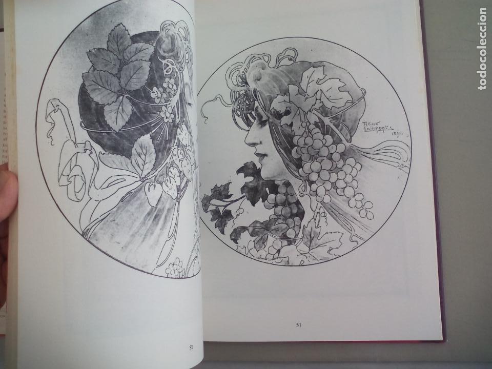 Libros de segunda mano: JUGENDSTIL.EINFÜRUNG VON L. SCHMIDT. VERGHAUS VERLAG. 1982. ART NOVEAU, MODERNISMO CARTELES - Foto 8 - 155867538