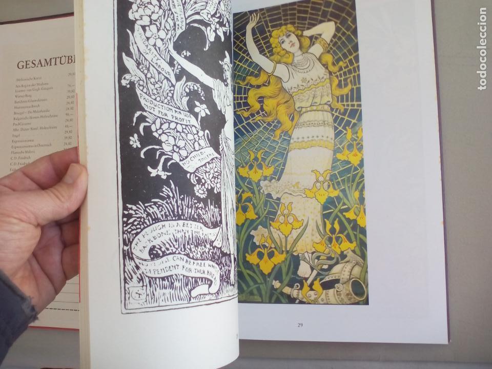 Libros de segunda mano: JUGENDSTIL.EINFÜRUNG VON L. SCHMIDT. VERGHAUS VERLAG. 1982. ART NOVEAU, MODERNISMO CARTELES - Foto 10 - 155867538