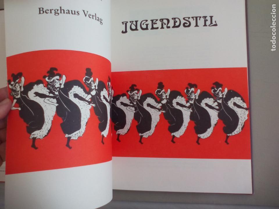Libros de segunda mano: JUGENDSTIL.EINFÜRUNG VON L. SCHMIDT. VERGHAUS VERLAG. 1982. ART NOVEAU, MODERNISMO CARTELES - Foto 12 - 155867538
