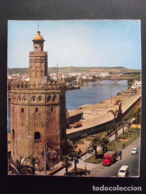 Libros de segunda mano: TODA SEVILLA. 140 FOTOS A TODO COLOR. 1ª EDICIÓN, MARZO 1972. - Foto 2 - 156374954