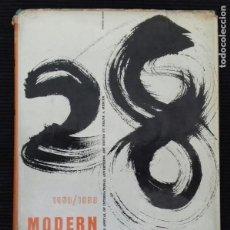 Libros de segunda mano: MODERN PUBLICITY, 1958/1959.. Lote 156729302