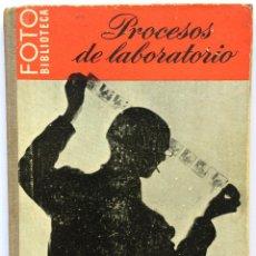 Libros de segunda mano: LIBRO FOTO BIBLIOTECA - PROCESOS DE LABORATORIO - C.I. JACOBSON - EDICIONES OMEGA. Lote 156924146