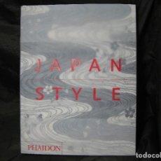 Libros de segunda mano: ENVÍO PENINSULA 5,15€ JAPAN STYLE PHAIDON 300 PG EXCELENTE AUTOR GIAN CARLO CALZA 2007 1ª EDICIÓN. Lote 156988746