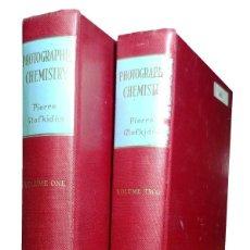 Libros de segunda mano: PHOTOGRAPHIC CHEMISTRY / PIERRE GLAFKIDES. LONDON : FOUNTAIN PRESS, 1958. 2 VOL. EJ. DE JOAQUÍN MOYA. Lote 157138030