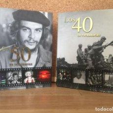Libros de segunda mano: LOTE 2 TOMOS. LOS 40 EN FOTOGRAFIAS / LOS 50 EN FOTOGRAFIAS - PARRAGON - BUEN ESTADO - GCH. Lote 157329234