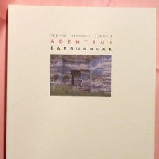 Gebrauchte Bücher - TERESA HERRERO ZUBIAUR: ADENTROS - CATÁLOGO DE EXPOSICIÓN - MUSEO VASCO - 1998 - NUEVO - 157851294