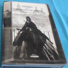 Libros de segunda mano: HISTORIA DE LA FOTOGRAFIA EN ESPAÑA, PUBLIO LOPEZ MONDEJAR. Lote 158338522