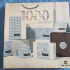 Libros de segunda mano: 1000 BOLSAS, ETIQUETAS Y ADHESIVOS : DISEÑOS ORIGINALES PARA CUALQUIER EMPRESA INDEX BOOK, S.L. . Lote 158763030
