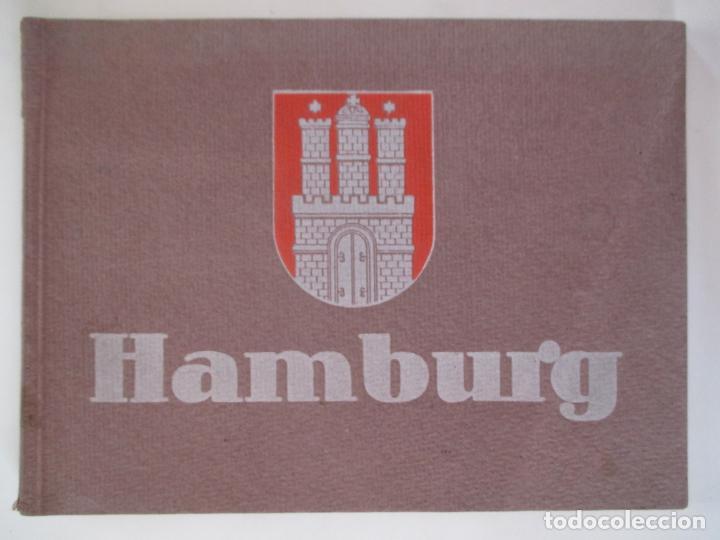 HAMBURG 24 ANSICHTEN. NACH PHOTOGRAPHISCHEN AUFNAHMEN IN KUPFERTIEFDRUCK. (Libros de Segunda Mano - Bellas artes, ocio y coleccionismo - Diseño y Fotografía)