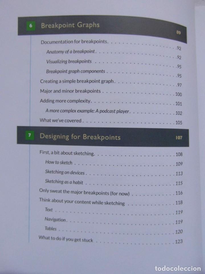 Libros de segunda mano: RESPONSIVE DESIGN WORKFLOW. STEPHEN HAY. DEBIBL - Foto 4 - 159744534