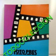Libros de segunda mano: FOTO PRES 1988. Lote 177589084