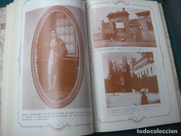 Libros de segunda mano: LIBRO DE FOTOS ZARAGOZA - Foto 3 - 160612438