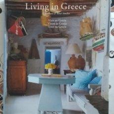 Livres d'occasion: LIVING IN GREECE. VIVIR EN GRECIA. BARBARA & RENÉ STOELTIE. TASCHEN. 31 CM. 2002. MUY BUEN ESTADO!. Lote 161477626