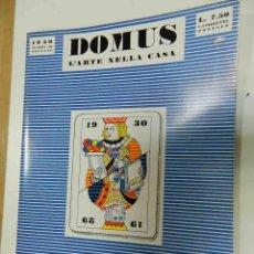 Livres d'occasion: DOMUS LARTE DELLA CASA (1930) TASCHEN 2008 MAGAZINE. Lote 162689554