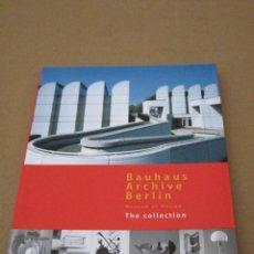 Libros de segunda mano: BAUHAUS ARCHIVE BERLIN - MUSEUM OF DESIGN - THE COLLECTION. Lote 162967238