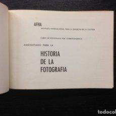 Libros de segunda mano: ANECDOTARIO PARA LA HISTORIA DE LA FOTOGRAFIA, 1959 (8 TOMOS). Lote 165220046