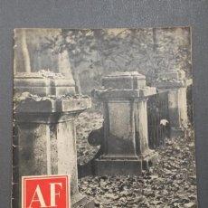 Libros de segunda mano: A561.- AF / ARTE FOTOGRAFICO.- AÑO I - NUMERO 11 - NOVIENBRE 1952. Lote 165773190