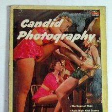 Libros de segunda mano: CANDID PHOTOGRAPHY. 1951. FOTOGRAFÍA. Lote 165824922