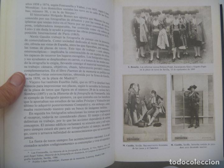 Libros de segunda mano: HISTORIA DE LA FOTOGRAFIA TAURINA I, DE MANUEL DURAN BLAZQUEZ Y J. MIGUEL SANCHEZ, 1991 - Foto 5 - 166056502