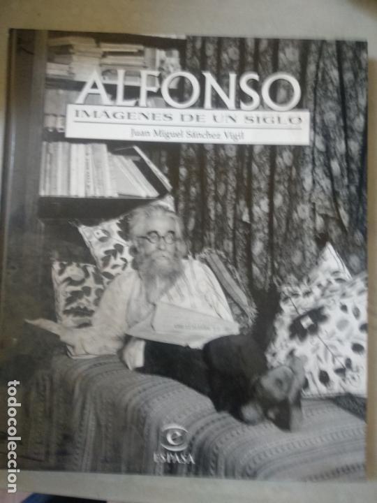 ALFONSO IMAGENES DE UN SIGLO. JUAN MANUEL SÁNCHEZ VIGIL. ESPASA CALPE (Libros de Segunda Mano - Bellas artes, ocio y coleccionismo - Diseño y Fotografía)
