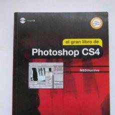 Libros de segunda mano: EL GRAN LIBRO DE PHOTOSHOP CS4. MARCOMBO. NO INCLUYE EL CD. DEBIBL. Lote 166937376