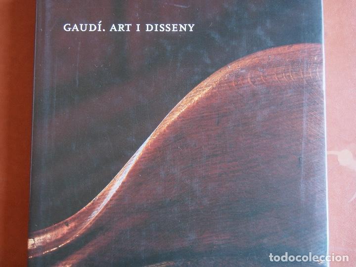 GAUDÍ. ART I DISSENY (Libros de Segunda Mano - Bellas artes, ocio y coleccionismo - Diseño y Fotografía)