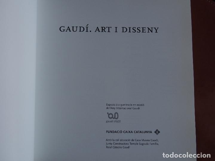 Libros de segunda mano: Gaudí. Art i Disseny - Foto 2 - 167502032
